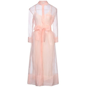 《セール開催中》MAJE レディース 7分丈ワンピース・ドレス ピンク 3 ポリエステル 100% / レーヨン