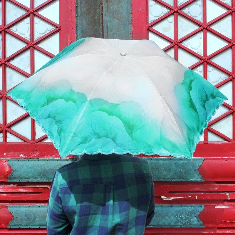 翠玉白菜 晴雨傘