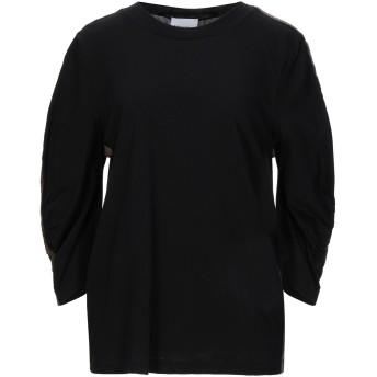 《セール開催中》ANNARITA N TWENTY 4H レディース T シャツ ブラック S コットン 100%
