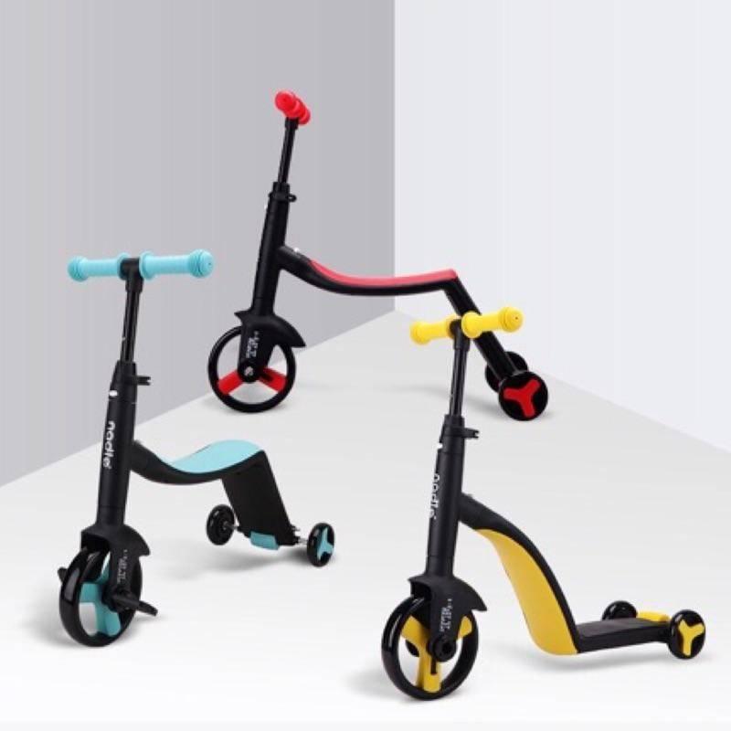 Nadle 三合一多功能三輪滑步/板車-3色【淘氣寶寶】