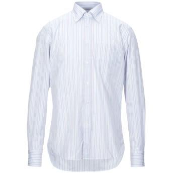 《セール開催中》BAGUTTA メンズ シャツ ライラック 39 コットン 100%