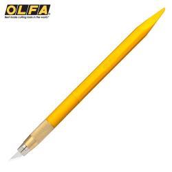 日本OLFA專業筆刀等距刻線刀雕刻刀切割刀AK-5/5B(含5片替刃;同216BSY)適模型公仔刻線工具 台灣公司貨