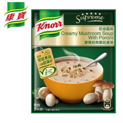 康寶濃湯 奶油風味經典蕈菇濃湯 (3包入)