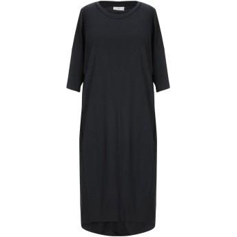 《セール開催中》MINIMUM レディース ミニワンピース&ドレス ブラック XL レーヨン 65% / ポリエステル 30% / ポリウレタン 5%