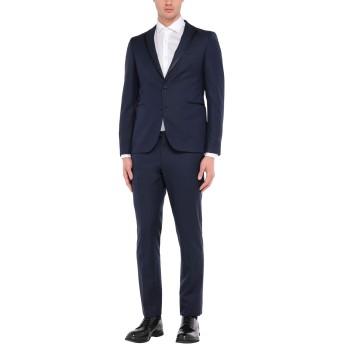 《セール開催中》TAGLIATORE メンズ スーツ ダークブルー 48 バージンウール 100% / スーパー130 ウール