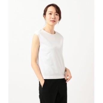 ICB/アイシービー 【VERY3月号掲載】Superior Cotton カットソー ホワイト系 M