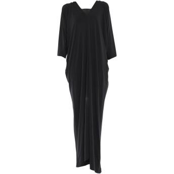 《セール開催中》ALBERTA FERRETTI レディース ロングワンピース&ドレス ブラック 40 レーヨン 95% / 指定外繊維 5%