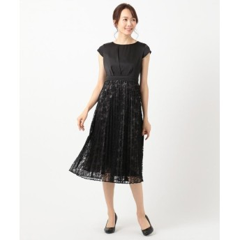 エニィスィス フルールレースプリーツ ドレス レディース ブラック 2 【any SiS】