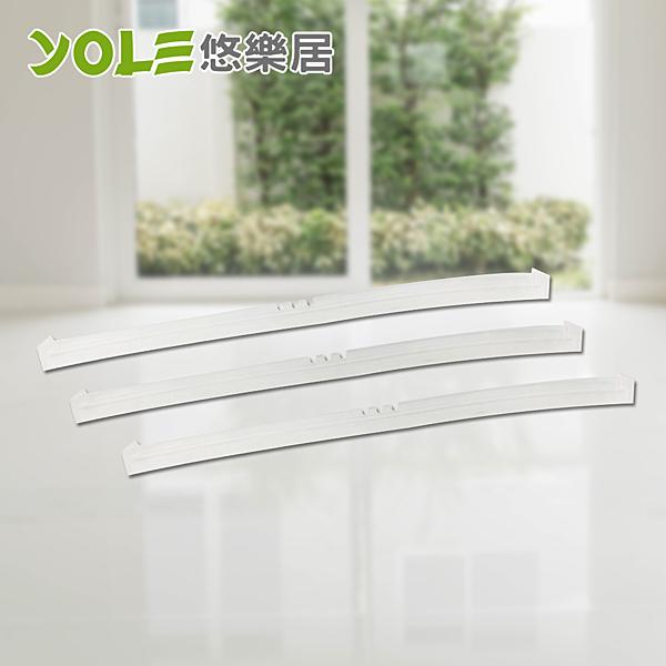 【YOLE悠樂居】大尺寸玻璃刮刀/地板刮水器替換刮條(3入)#1027022-3
