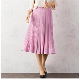 【Rose Tiara:スカート】シフォンプリーツスカート