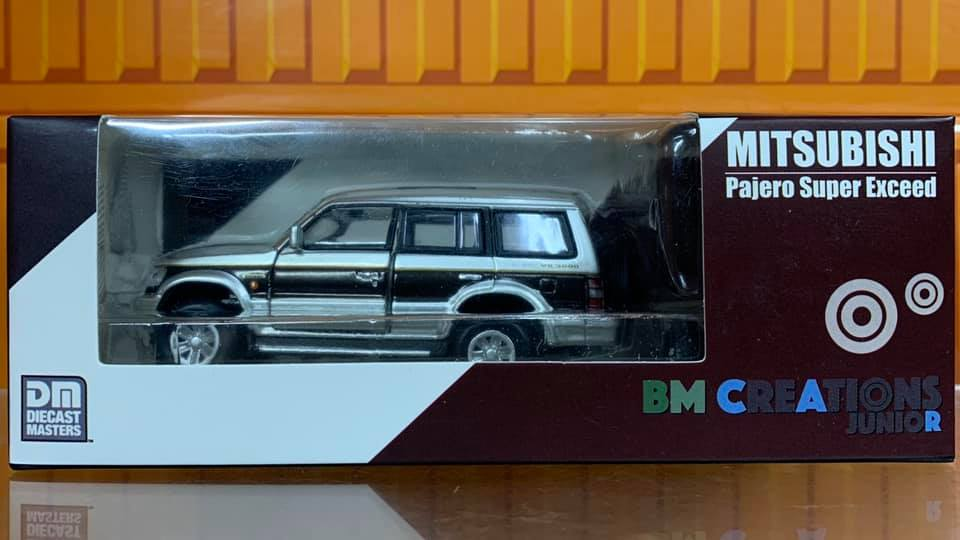 ☆勳寶玩具舖【現貨】BM Creations 22 1/64 Mitsubishi Gen Pajero 紅色線條 左駕