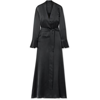 《セール開催中》MICHAEL LO SORDO レディース ロングワンピース&ドレス ブラック 8 シルク 100%