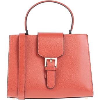 《セール開催中》STELLA DUTTI レディース ハンドバッグ 赤茶色 革