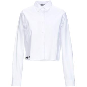 《セール開催中》SHOP ★ ART レディース シャツ ホワイト XS コットン 97% / ポリウレタン 3%
