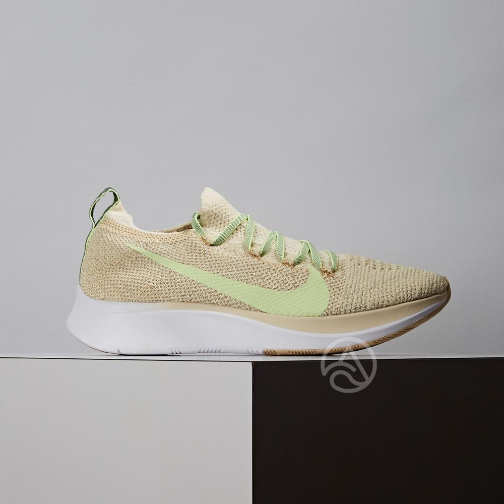 Nike Zoom Fly Flyknit 女鞋 米色 編織 透氣 休閒 慢跑鞋 AR4562-200