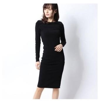 ヴィンス VINCE. ドレス (ブラック)
