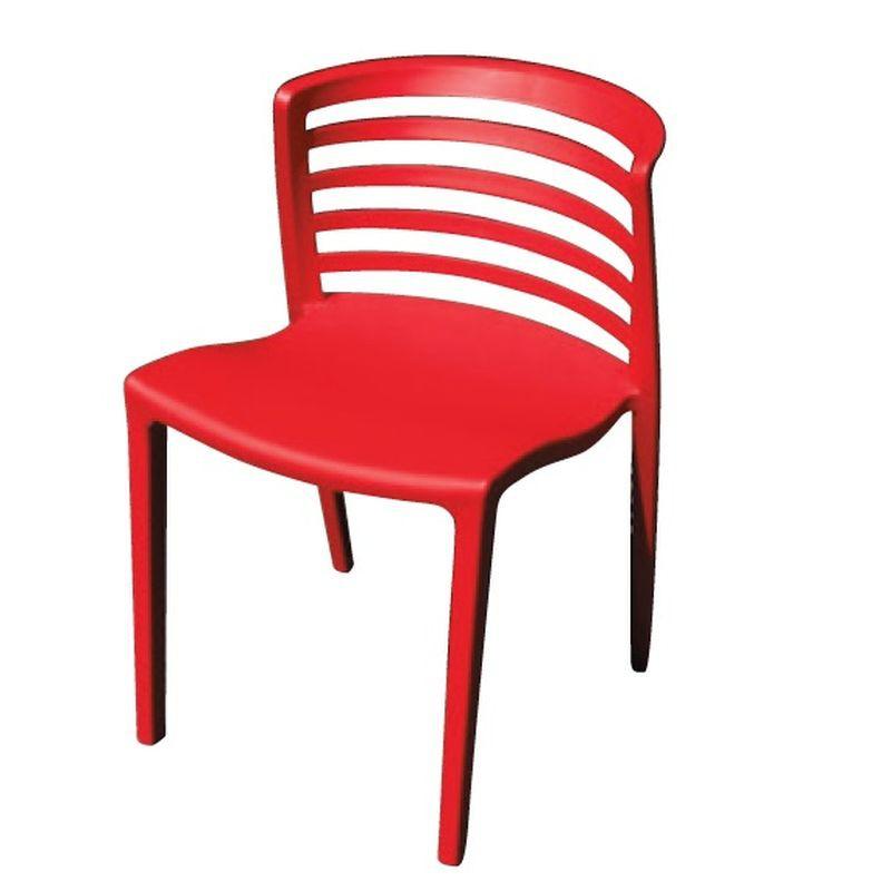 【UA272-14】624條紋椅(紅色)