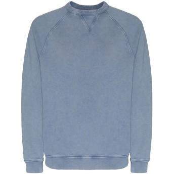 《セール開催中》8 by YOOX メンズ スウェットシャツ パステルブルー S オーガニックコットン 100%