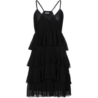 《セール開催中》LIU JO レディース ミニワンピース&ドレス ブラック 38 ポリエステル 100%
