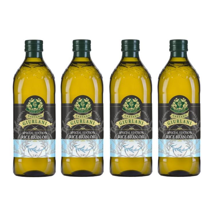 喬凡尼玄米油1公升4瓶組(可選擇搭贈喬凡尼禮盒)(限配送台灣本島地區)