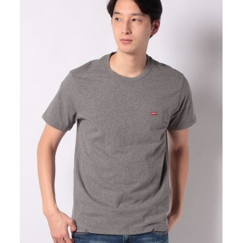 【50%OFF】 リーバイス アウトレット SS ORIGINAL HM TEE CHARCOAL HEATHER メンズ グレー M 【LEVI'S OUTLET】 【セール開催中】