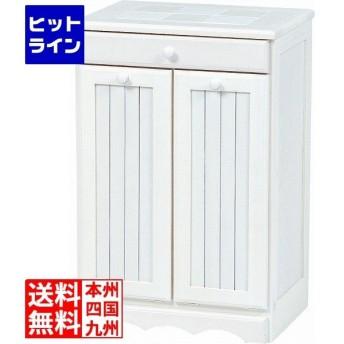 ダストボックス(ホワイトウォッシュ) MUD-3556WS【大型商品につき代引不可・時間指定不可・返品不可】 MUD-3556WS