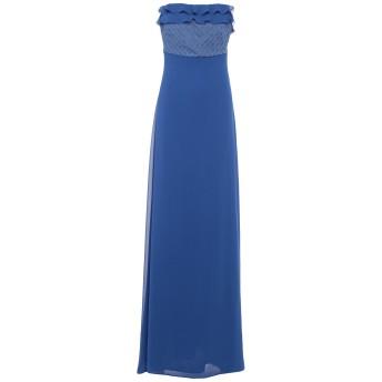 《セール開催中》ALESSANDRO DELL'ACQUA レディース ロングワンピース&ドレス ブライトブルー 44 ポリエステル 100%