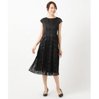 any SiS/エニィスィス 【洗える】フルールレースプリーツ ドレス ブラック 2