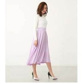 【rienda:スカート】SpringカラーJ/WヘムSK
