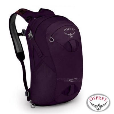OSPREY 新款 Daylite Travel 24 超輕多功能隨身背包_項鍊紫 R