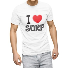 igsticker プリント Tシャツ メンズ 3XL XXXL サイズ size おしゃれ クルーネック 白 ホワイト t-shirt 003006 文字 英語 ハート