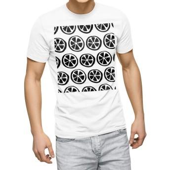 igsticker プリント Tシャツ メンズ 3XL XXXL サイズ size おしゃれ クルーネック 白 ホワイト t-shirt 050783