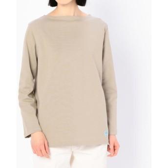 【ビショップ/Bshop】 【ORCIVAL】コットンロードフレンチバスクシャツ SOLID WOMEN