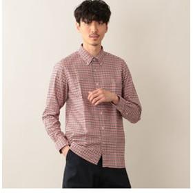 【MACKINTOSH PHILOSOPHY:トップス】ダブルチェックオックス ボタンダウンMPシャツ
