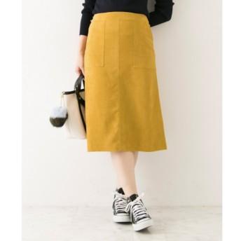 【アーバンリサーチ/URBAN RESEARCH】 UR フェイクスウェードカラースカート