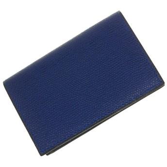VALEXTRA ヴァレクストラ レザーカードケース V8L03 028 ロイヤルブルー /定番人気商品