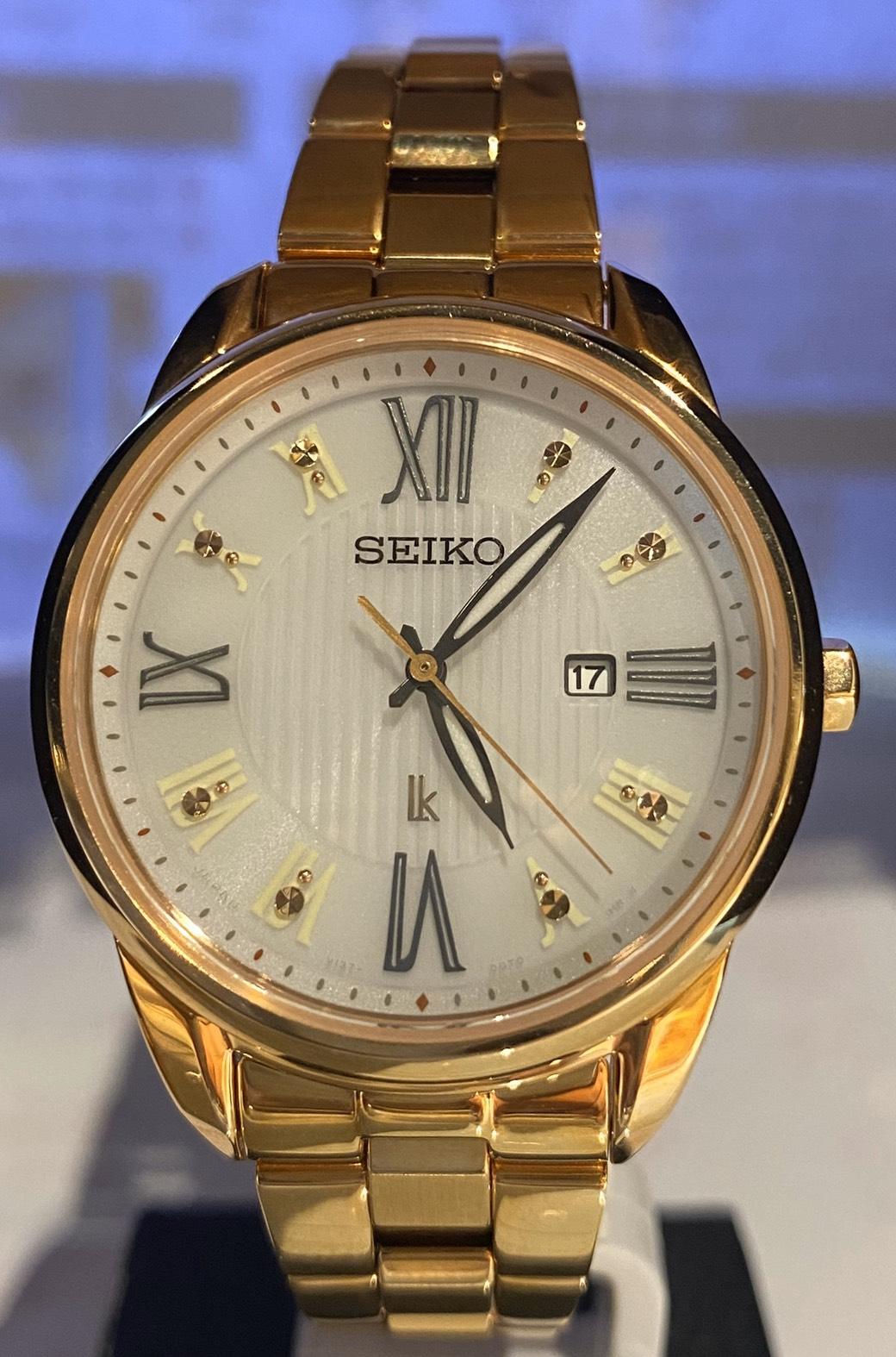 SEIKO【精工錶】 LUKAI系列 太陽能石英錶(SUT364J1)