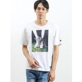 【on the day:トップス】【WEB限定販売】コンバース/CONVERSE エンボスプリント半袖Tシャツ