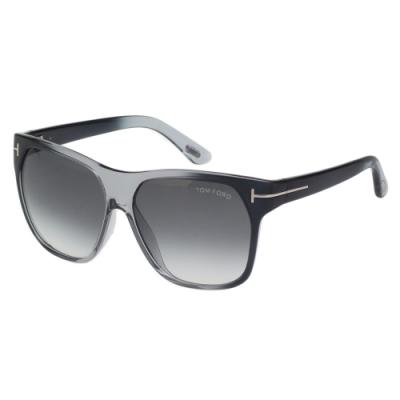 TOM FORD 歐版 太陽眼鏡(黑灰色)TF188