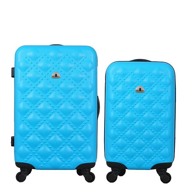 行李箱24+20吋 ABS材質 時尚香奈兒系列【Bear Box】