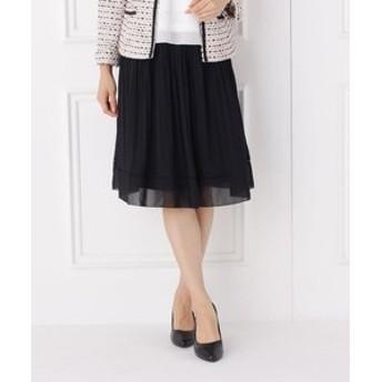 【SHOO・LA・RUE:スカート】【洗濯機可】ランダムプリーツスカート