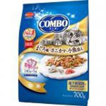 【新品/取寄品】コンボ 猫下部尿路の健康維持 まぐろ味・カニカマ・小魚添え 140g5袋入