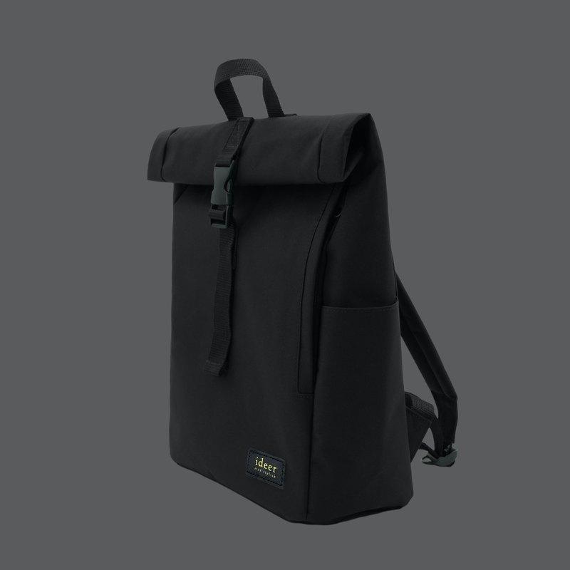 黑色防潑水尼龍防盜背包筆記型電腦 後背包 電腦包 旅行 書包