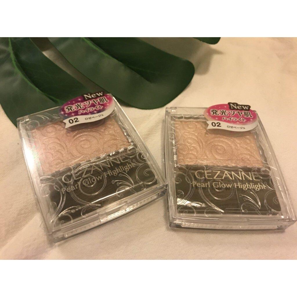 【日本代購 】CEZANNE 珠光修容霜 (02香檳玫瑰 全新上市!!)