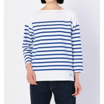 【ビショップ/Bshop】 【ORCIVAL】ラッセルフレンチセーラーTシャツ ROYAL WOMEN