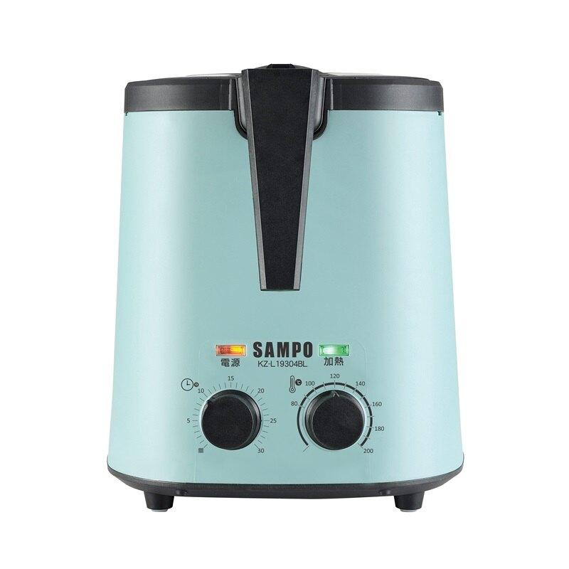 SAMPO 聲寶 3公升 健康油切氣炸鍋 KZ-L19304BL
