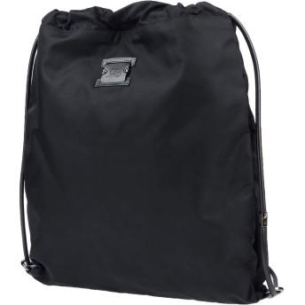《セール開催中》CHRISTIAN LOUBOUTIN メンズ バックパック&ヒップバッグ ブラック 紡績繊維