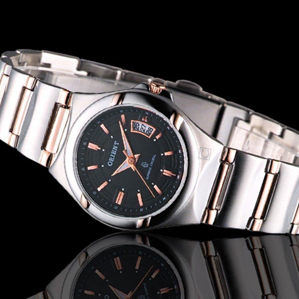 ORIENT東方錶優雅香頌仕女腕錶 HE72X82-B