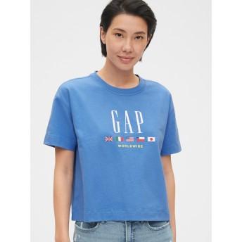 Gap ボクシーグラフィックTシャツ