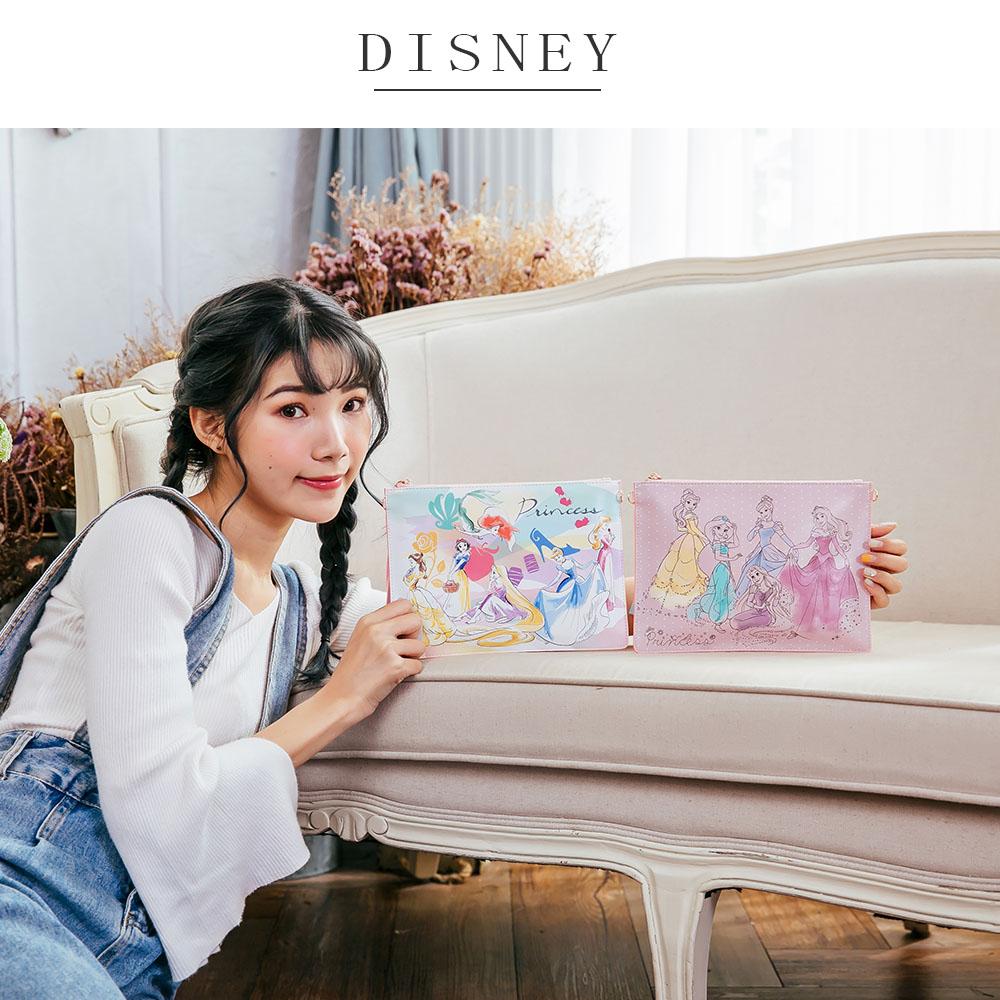 迪士尼公主系列花漾平板萬用包